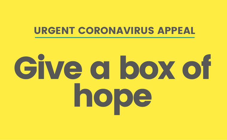 Boxes of Hope - why families need our support more than ever