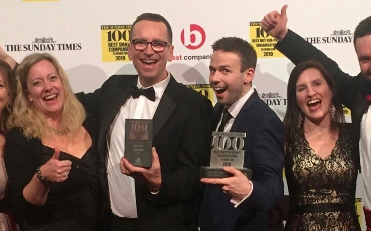 TLG named Best Not-for-Profit to Work For 2019